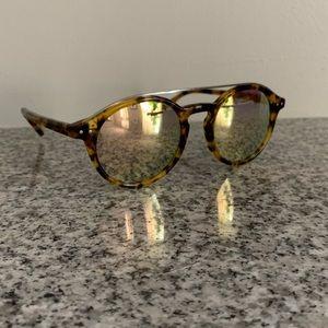 Madewell Tortoise Reflective Sunglasses